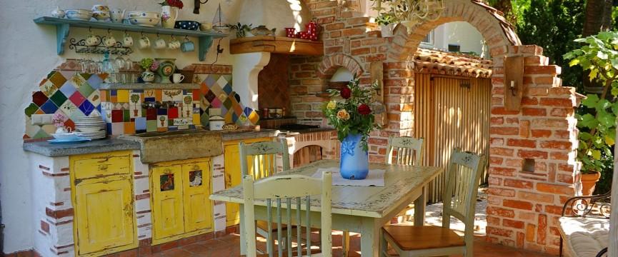 letna kuhinja outdoor kichen außenküche