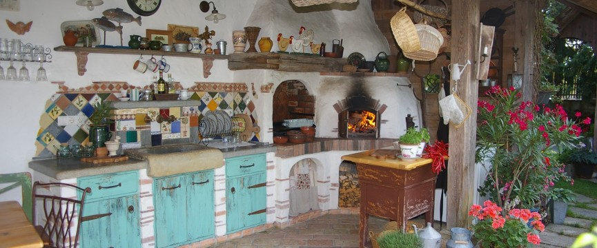 letna kuhinja, outdoor kitchen